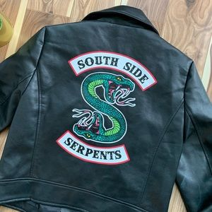 RIVERDALE | faux leather motorcycle jacket